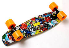Пенни борд Penny 22″ с рисунком Graffiti Sponge Bob. - Скейтборды и роллерсерфы, фото 2