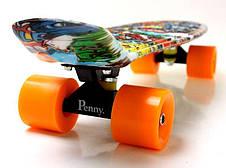 Пенни борд Penny 22″ с рисунком Graffiti Sponge Bob. - Скейтборды и роллерсерфы, фото 3