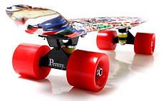 Пенни борд Penny 22″ с рисунком Graffiti NBA - Скейтборды и роллерсерфы, фото 3