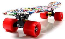 Пенни борд Penny 22″ с рисунком Graffiti NBA - Скейтборды и роллерсерфы, фото 2