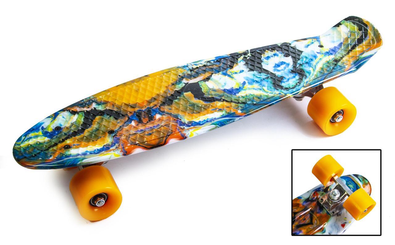Пенни борд Penny 22″ с рисунком Blur - Скейтборды и роллерсерфы