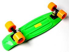 Пенни борд Penny 22″ Сlassic (Салатовый) Матовые колеса - Скейтборды и роллерсерфы, фото 2