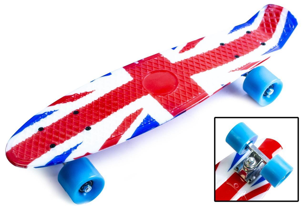 Пенни борд Penny 22″ с рисунком British flag - Скейтборды и роллерсерфы