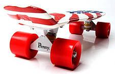 Пенни борд Penny 22″ с рисунком USA - Скейтборды и роллерсерфы, фото 2