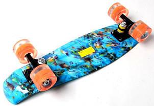 Пенни борд Penny Nemo 22″ со светящимися колесами - Скейтборды и роллерсерфы, фото 2