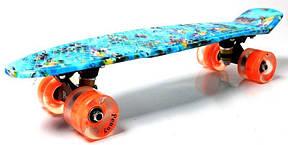 Пенни борд Penny Nemo 22″ со светящимися колесами - Скейтборды и роллерсерфы, фото 3