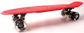 Пенни борд Fish Classic 22″ (Красный 2) Светящиеся колеса - Скейтборды и роллерсерфы, фото 3