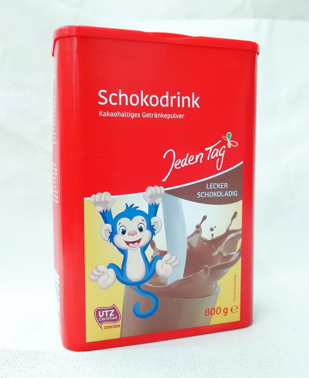 Какао напиток Schokodrink 800 gram