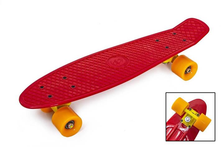 Пенни борд Fish Classic 22″ (Красный) - Скейтборды и роллерсерфы, фото 2