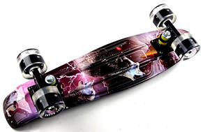 Пенни борд Penny Wolf 2in1 22″ со светящимися колесами - Скейтборды и роллерсерфы, фото 2