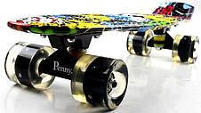 Пенни борд Penny Cool Draft Joker 22″ со светящимися колесами - Скейтборды и роллерсерфы, фото 3