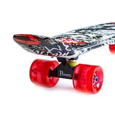 Пенни борд Penny 27″ Nickel с рисунком Street Светящиеся колеса - Скейтборды и роллерсерфы, фото 2