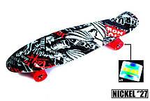 Пенни борд Penny 27″ Nickel с рисунком Street Светящиеся колеса - Скейтборды и роллерсерфы, фото 3