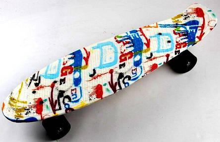 Пенни борд Penny 27″ Nickel с рисунком Versicolor 2 - Скейтборды и роллерсерфы, фото 2