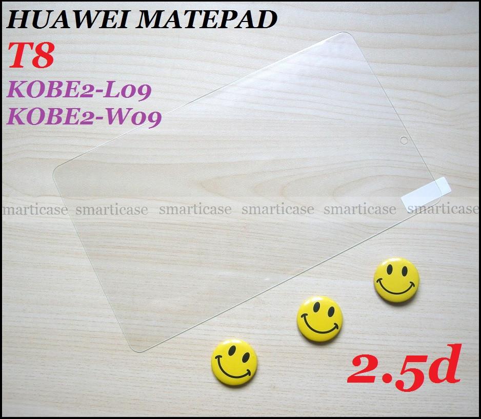 Защитное стекло для Huawei Matepad T8 KOB2-L09 KOB2-W09 (2.5d 9H) гладкие грани
