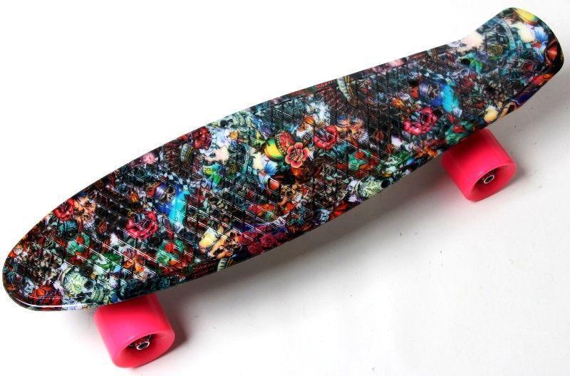 Пенни борд Penny 22″ с рисунком Hipster - Скейтборды и роллерсерфы