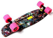 Пенни борд Penny 22″ с рисунком Hipster - Скейтборды и роллерсерфы, фото 3