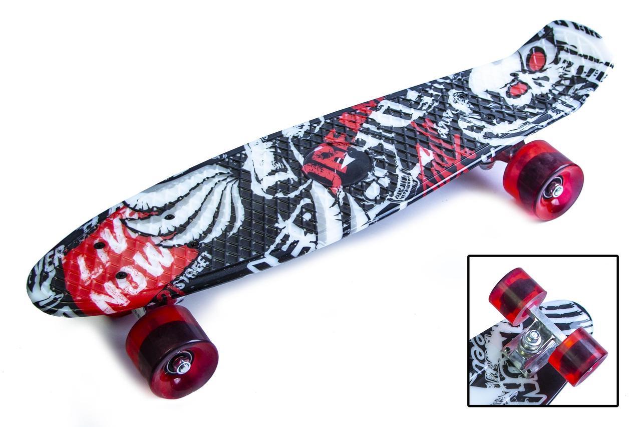 Пенни борд Penny 22″ с рисунком Street board - Скейтборды и роллерсерфы