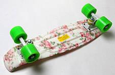 Пенни борд Penny 22″ с рисунком Flowers - Скейтборды и роллерсерфы, фото 2