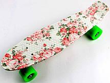 Пенни борд Penny 22″ с рисунком Flowers - Скейтборды и роллерсерфы, фото 3