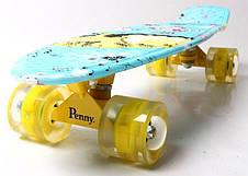 Пенни борд Penny 22″ Cool Cat 2 со светящимися колесами - Скейтборды и роллерсерфы, фото 3