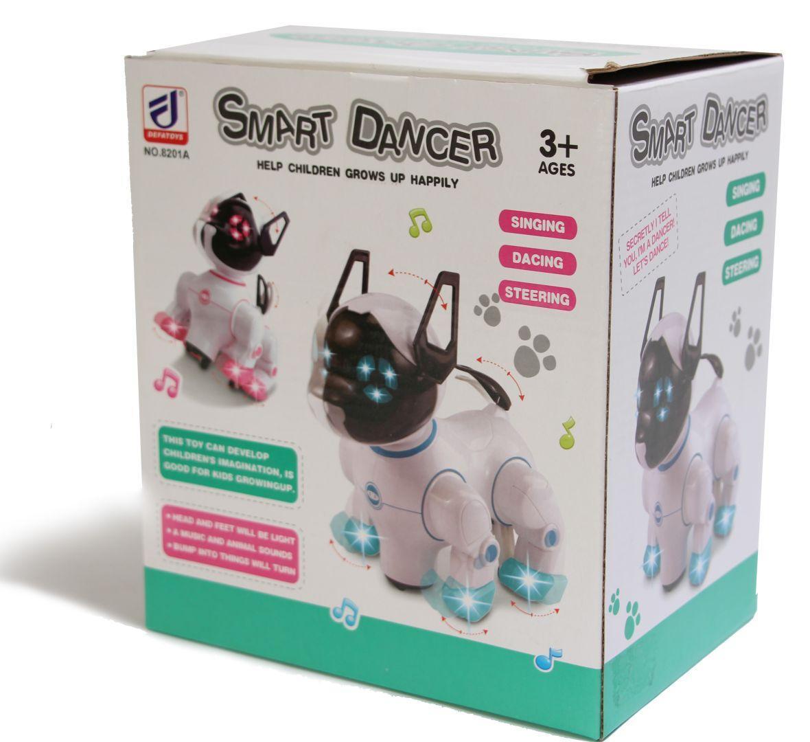 Интерактивная игрушка робот-собака Toys Smart Dancer - Интерактивные детские игрушки