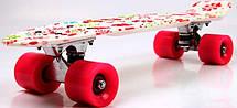 Пенни борд Penny 22″ с рисунком White Flowers - Скейтборды и роллерсерфы, фото 2