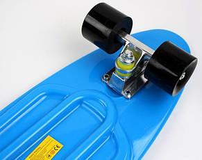 Пенни борд Penny 27″ Nickel (Синий) Матовые колеса - Скейтборды и роллерсерфы, фото 2