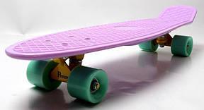 Пенни борд Penny 27″ Nickel (Лиловый 2) Матовые колеса - Скейтборды и роллерсерфы, фото 3