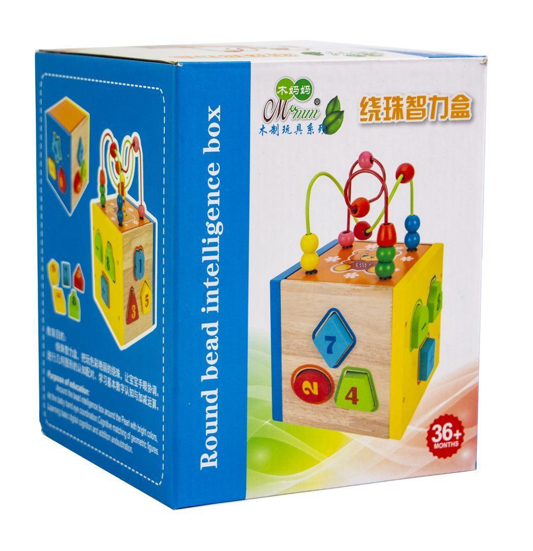 Деревянная игрушка-сортер - Развивающие и обучающие игрушки