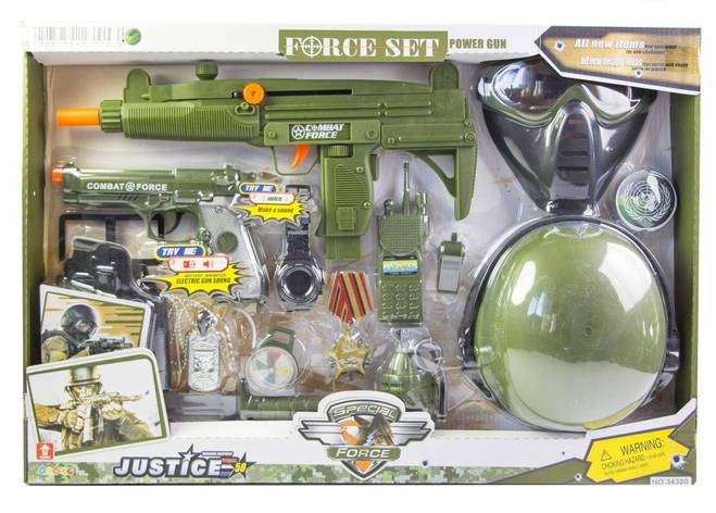Детский набор спецназ со шлемом и маской (34320), фото 2