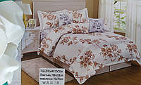 Комплект постельного белья полуторный размер мягкий сатин. Luxury Турция