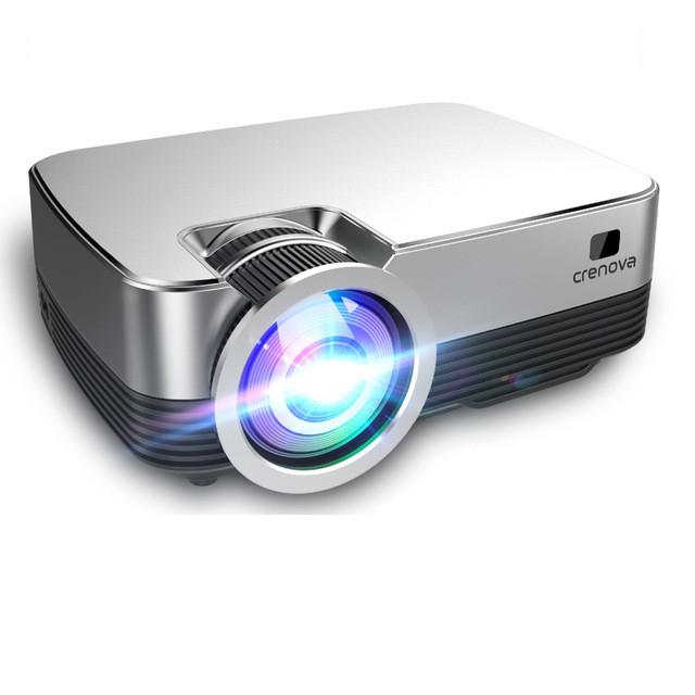 Проектор Crenova Q6 silver. HD, Android version