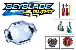 Набор Бейблейд Beyblade с ловушками роботами TD999К - Волчки и спиннеры, фото 2