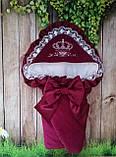 Нарядный конверт, одеяло для новорожденного весна/лето, фото 2