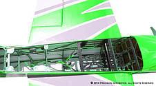 Самолёт р/у Precision Aerobatics XR-52 1321мм KIT (зеленый) - Радиоуправляемые игрушки, фото 3
