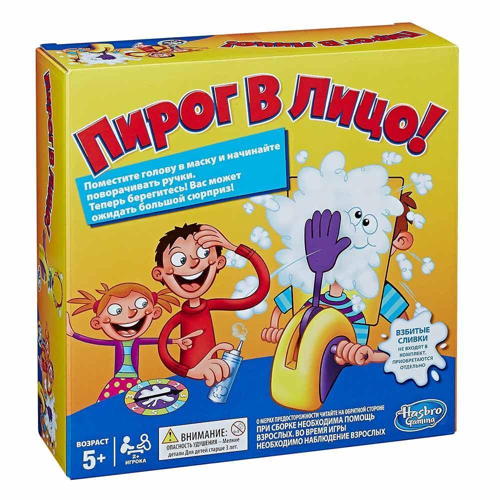 Настольная игра Пирог в лицо 111-11E - Настольные игры