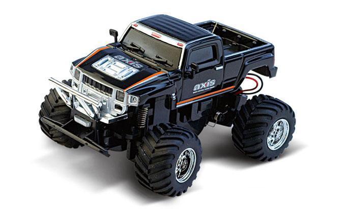Машинка на радиоуправлении Джип 1:58 Great Wall Toys 2207 (черный, 35MHz) - Радиоуправляемые игрушки