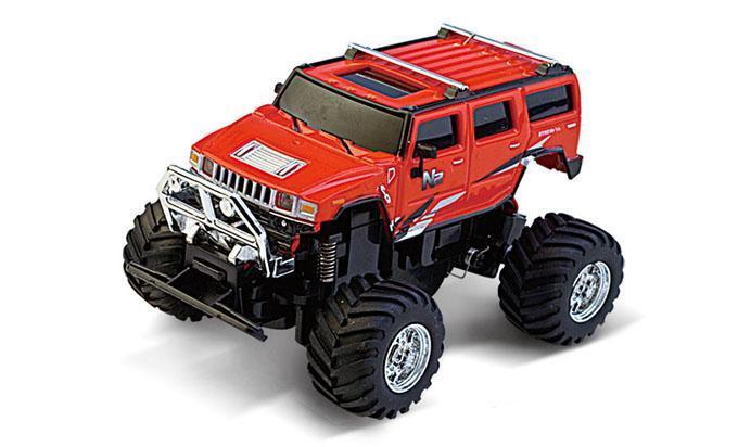 Машинка на радиоуправлении Джип 1:58 Great Wall Toys 2207 (красный, 49MHz) - Радиоуправляемые игрушки