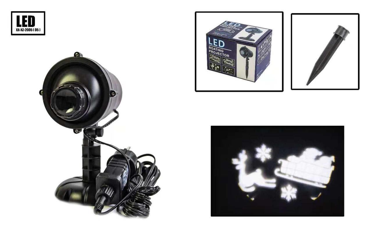 Лазерный проектор уличный (новогодний) X-Laser XX-XZ-2005 - Праздничное освещение
