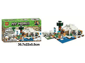 Конструктор Bela 10811 Полярне голку Lego Майнкрафт Minecraft