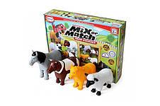 Пазл 3D детский магнитные животные POPULAR Playthings Mix or Match (корова, лошадь, овца, собака) - Игрушки, фото 2