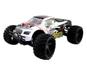 Радиоуправляемая модель Монстр 1:18 Himoto Mastadon E18MT Brushed (белый) - Радиоуправляемые игрушки