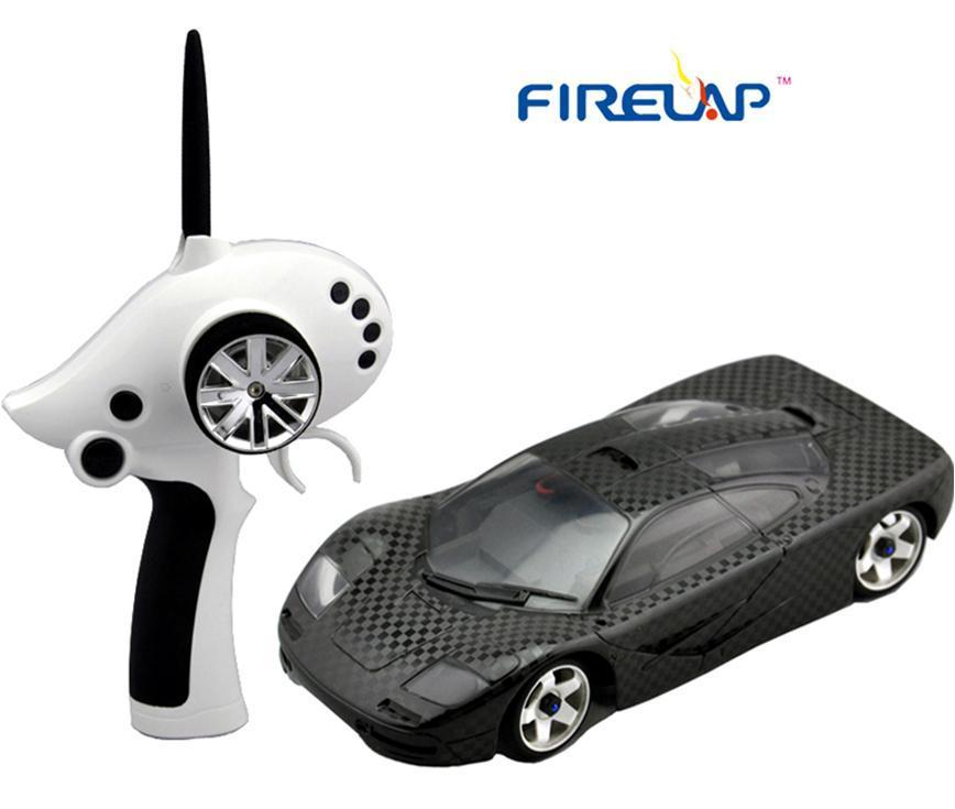 Автомодель р/у 1:28 Firelap IW02M-A Mclaren 2WD (карбон) - Радиоуправляемые игрушки
