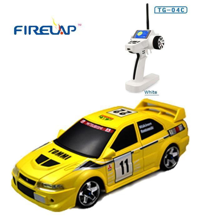 Автомодель р/у 1:28 Firelap IW04M Mitsubishi EVO 4WD (желтый) - Радиоуправляемые игрушки