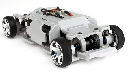 Автомодель р/у 1:28 Firelap IW04M Mitsubishi EVO 4WD (желтый) - Радиоуправляемые игрушки, фото 2