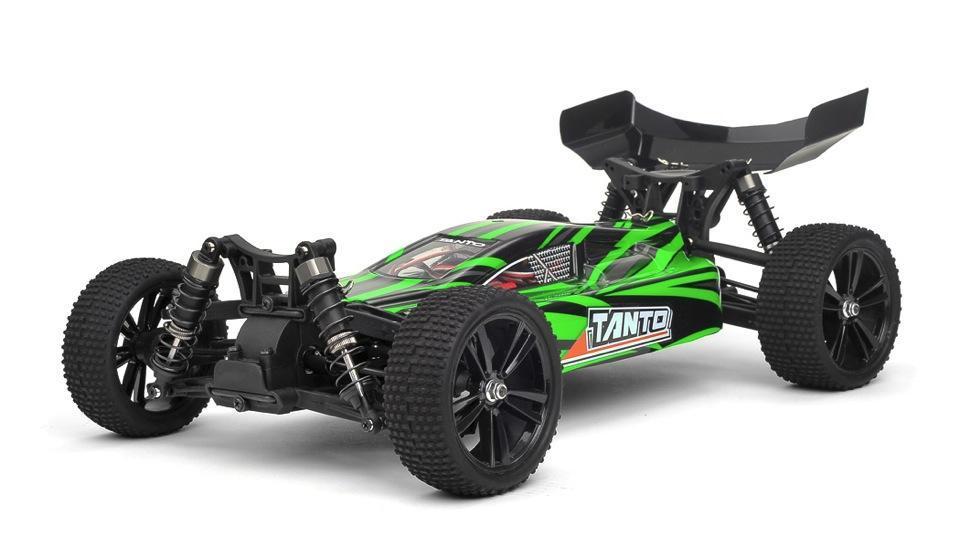 Радиоуправляемая модель Багги 1:10 Himoto Tanto E10XBL Brushless (зеленый) - Радиоуправляемые игрушки