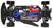 Радиоуправляемая модель Дрифт 1:10 Himoto DRIFT TC HI4123BL Brushless (синий) - Радиоуправляемые игрушки, фото 3