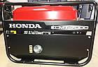 Генератор бензиновий Honda ECMT7000, потужність 7 кВт, 220 / 380в, на колесах, ручний запуск, фото 3
