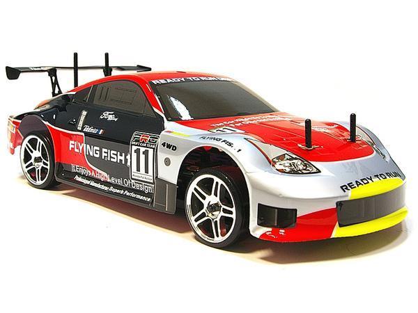 Радиоуправляемая модель Дрифт 1:10 Himoto DRIFT TC HI4123 Brushed (Nissan 350z) - Радиоуправляемые игрушки